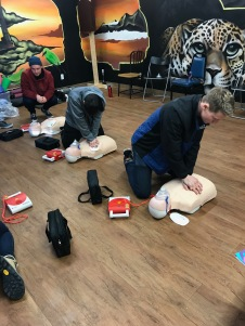 first aid course - recommended even as a re-fresher