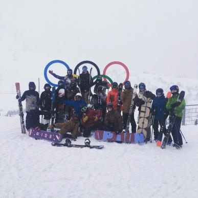 Team 2017/2018 - Fresh Tracks!